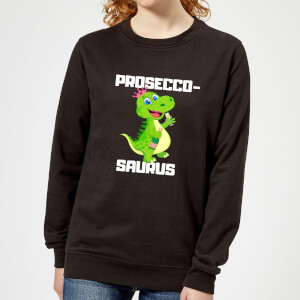 Be My Pretty Proseco-Saurus Women's Sweatshirt - Black