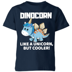 Big and Beautiful Dinocorn Kids' T-Shirt - Navy
