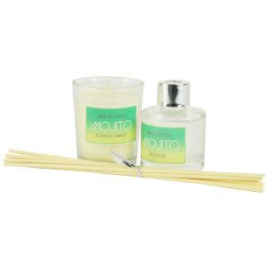 Candle and Diffuser Set - Mojito