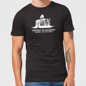 Camiseta American Horror Story Return To Roanoke - Hombre - Negro
