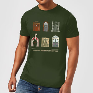 American Horror Story Some Doors Quote Men's T-Shirt - Forest Green