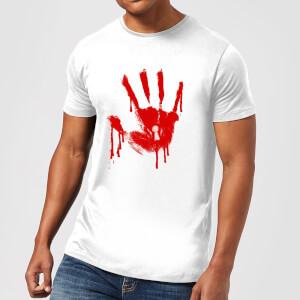 T-Shirt Homme Keyhole Handprint - American Horror Story - Blanc