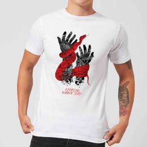 American Horror Story Snake Hands Men's T-Shirt - White