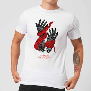 American Horror Story Snake Hands Herren T-Shirt - Weiß