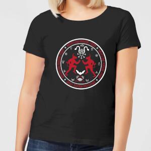 American Horror Story Coven Witchcraft Crest Women's T-Shirt - Black