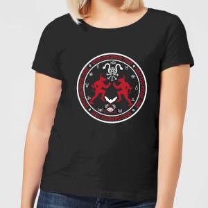 American Horror Story Coven Witchcraft Crest Damen T-Shirt - Schwarz