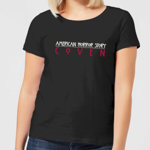American Horror Story Coven Title Women's T-Shirt - Black