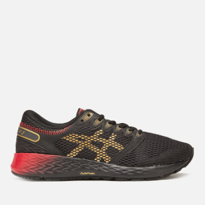 Asics Men's Running Roadhawk 2 FF Trainers - Black/Rich Gold