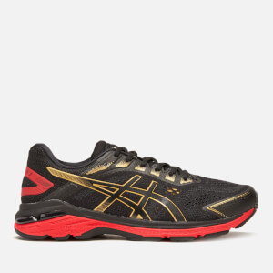 Asics Men's Running Gt-2000 7 Trainers - Black/Rich Gold
