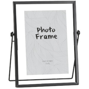 Aimee Medium Photo Frame - Black