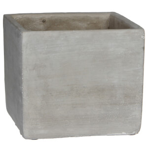 Cliff Square Pot - Beige from I Want One Of Those