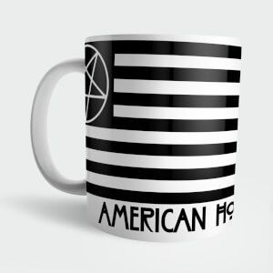 Taza American Horror Story Pentogram Black Flag