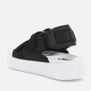 Puma Women's Platform Slide Ylm 19 Sandals - Puma Black/Puma White