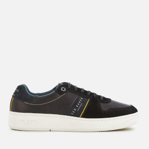 Ted Baker Men's Maloni Suede Low Top Trainers - Black