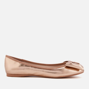 Ted Baker Women's Imme 4 Bow Ballet Flats - Rose Gold