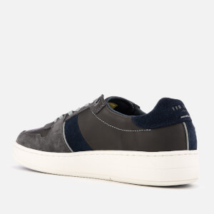 Ted Baker Men's Maloni Suede Low Top Trainers - Dark Grey: Image 2