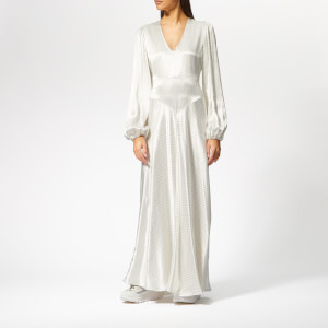 Ganni Women's Cameron Maxi Dress - Egret