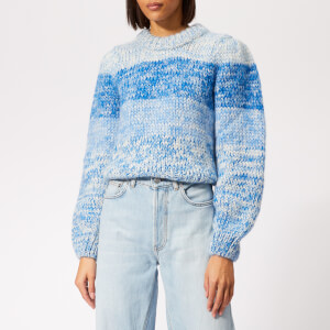 Ganni Women's The Julliard Mohair Jumper - Lapis Blue