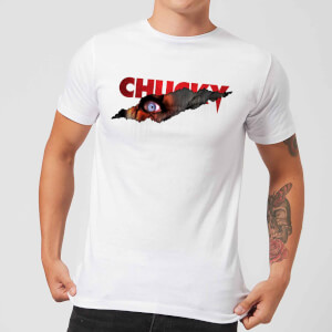 Chucky Tear T-shirt - Wit