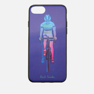 Paul Smith Men's Cycling iPhone 8 Case - Purple
