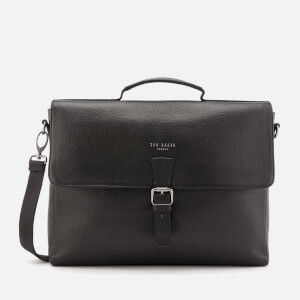 Ted Baker Men's Departs Leather Satchel Bag - Black
