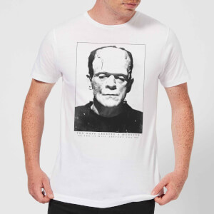 Camiseta Universal Monsters Frankenstein Portrait - Hombre - Blanco