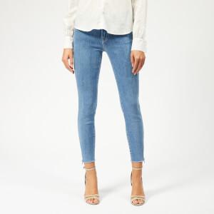 J Brand Women's 835 Mid Rise Crop Skinny Jeans - Lightyear