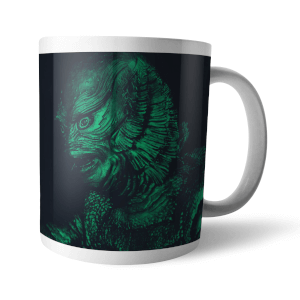 Universal Monsters Creature From The Black Lagoon Retro Mug
