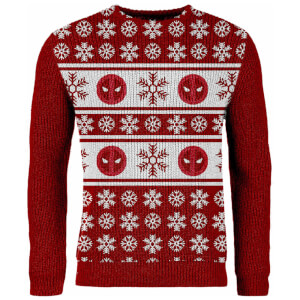 Jersey Navideño Deadpool - Rojo - Exclusivo Zavvi