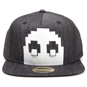 Pac-Man Blinky Denim Snapback - Charcoal