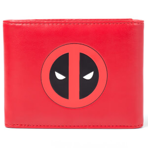 Marvel Deadpool Men's Trifold Wallet - Red