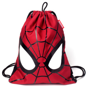Marvel Spider-Man Men's Gym Bag - Red