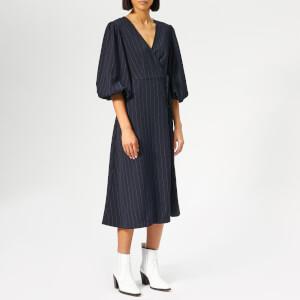 Ganni Women's Clark Dress - Total Eclipse