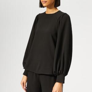 Ganni Women's Clark Top - Black