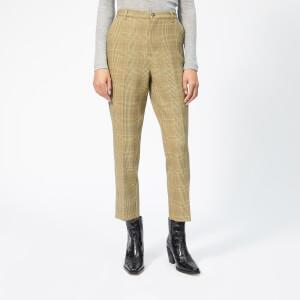 Ganni Women's Hewitt Trousers - Beige