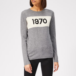 Bella Freud Women's 1970 Cashmere Jumper - Grey Marl