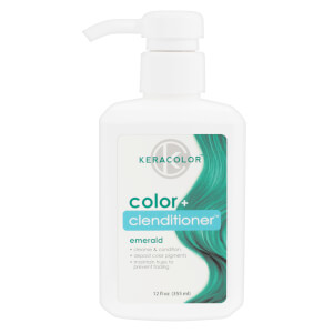 Keracolor Colour + Clenditioner - Emerald 355ml