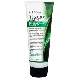 HI PRO PAC Tea Tree and Mint Hair and Scalp Masque Tube 237ml