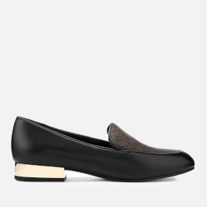 MICHAEL MICHAEL KORS Women's Valerie Slip-On Flats - Black/Brown