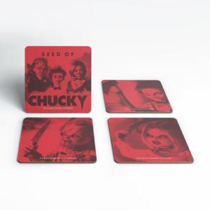 Chucky Family Coaster Set