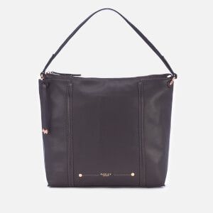 Radley Women's Kew Palace Large Hobo Zip Top Bag - Charcoal