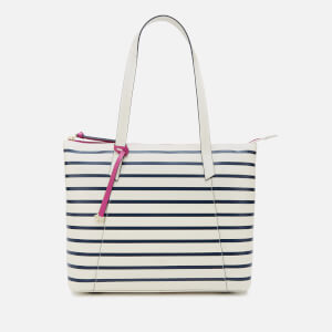 Radley Women's Wood Street Stripe Large East West Tote Bag - Chalk
