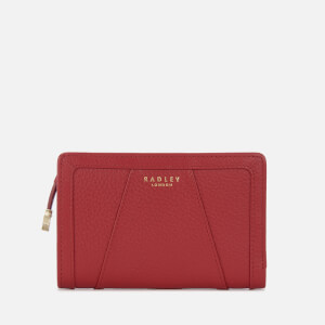 Radley Women's Wood Street Medium Purse Zip Top - Claret