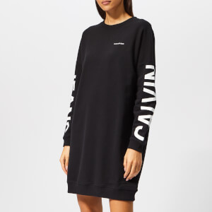 Calvin Klein Jeans Women's Institutional Logo Dress - Black
