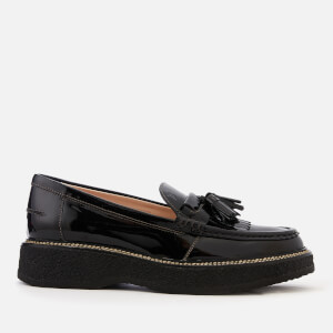 Tod's Women's Tassle Loafers - Black
