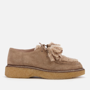 Tod's Women's Lace Up Shoes - Tabacco/Cappuccino