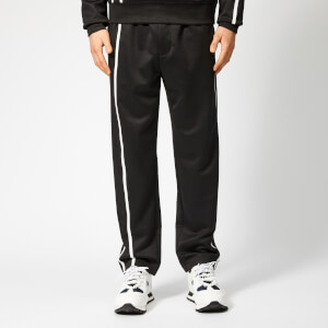 Helmut Lang Men's Sport Stripe Sweatpants - Black/White