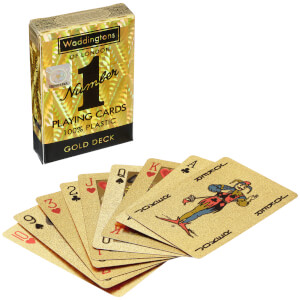 Waddingtons Number 1 Playing Cards - Gold Edition