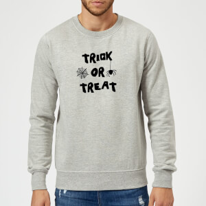 Trick or Treat Sweatshirt - Grey