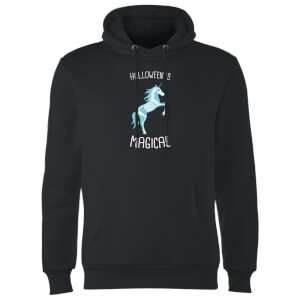 Unicorn Skeleton Hoodie - Black